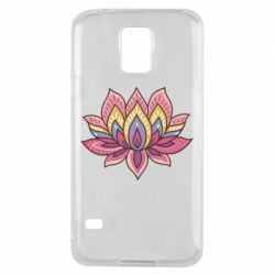 Чехол для Samsung S5 Lotus - FatLine