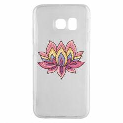 Чехол для Samsung S6 EDGE Lotus - FatLine