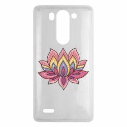 Чехол для LG G3 mini/G3s Lotus - FatLine