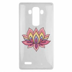 Чехол для LG G4 Lotus - FatLine