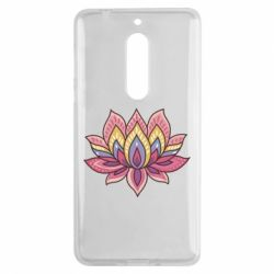 Чехол для Nokia 5 Lotus - FatLine