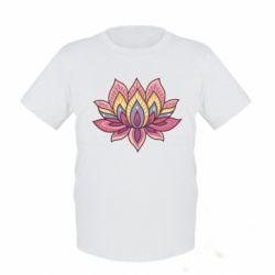 Детская футболка Lotus