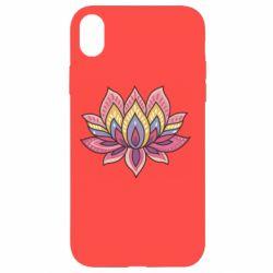 Чехол для iPhone XR Lotus - FatLine