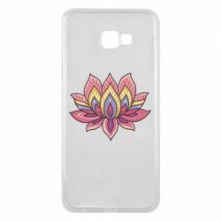 Чехол для Samsung J4 Plus 2018 Lotus - FatLine