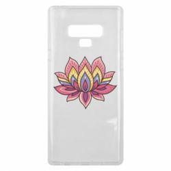 Чехол для Samsung Note 9 Lotus - FatLine