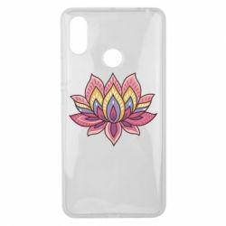Чехол для Xiaomi Mi Max 3 Lotus - FatLine