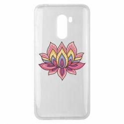 Чехол для Xiaomi Pocophone F1 Lotus - FatLine