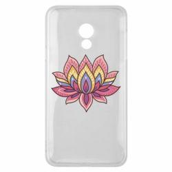 Чехол для Meizu 15 Lite Lotus - FatLine
