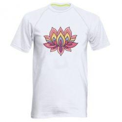Мужская спортивная футболка Lotus - FatLine