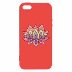 Чехол для iPhone5/5S/SE Lotus - FatLine