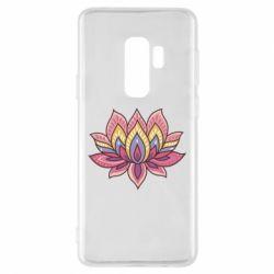 Чехол для Samsung S9+ Lotus - FatLine