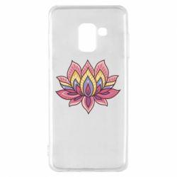 Чехол для Samsung A8 2018 Lotus - FatLine