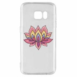 Чехол для Samsung S7 Lotus - FatLine