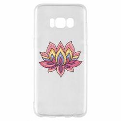 Чехол для Samsung S8 Lotus - FatLine