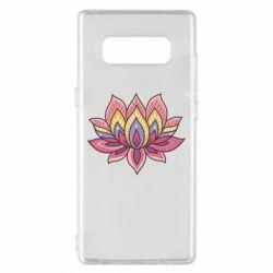 Чехол для Samsung Note 8 Lotus - FatLine