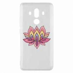 Чехол для Huawei Mate 10 Pro Lotus - FatLine