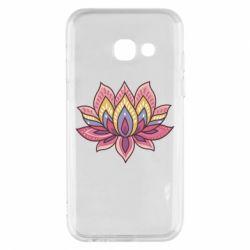 Чехол для Samsung A3 2017 Lotus - FatLine