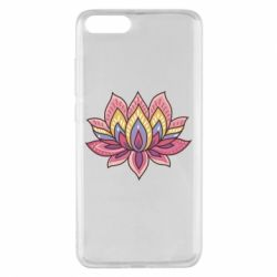 Чехол для Xiaomi Mi Note 3 Lotus - FatLine
