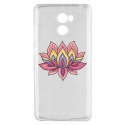 Чехол для Xiaomi Redmi 4 Lotus - FatLine