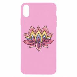 Чехол для iPhone X Lotus - FatLine