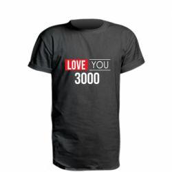 Удлиненная футболка Love 300