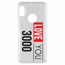 Чехол для Xiaomi Redmi Note 5 Love 300