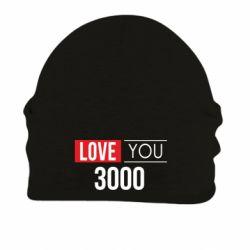 Шапка на флисе Love 300