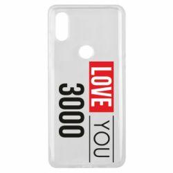 Чехол для Xiaomi Mi Mix 3 Love 300