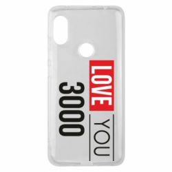 Чехол для Xiaomi Redmi Note 6 Pro Love 300
