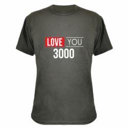 Камуфляжная футболка Love 300