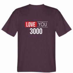 Мужская футболка Love 300
