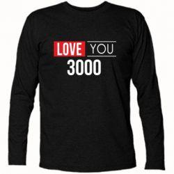Футболка с длинным рукавом Love 300