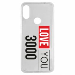 Чехол для Xiaomi Redmi Note 7 Love 300