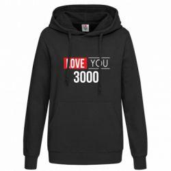 Женская толстовка Love 300