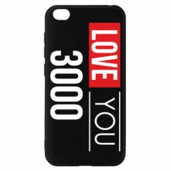 Чехол для Xiaomi Redmi Go Love 300