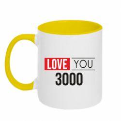 Кружка двухцветная 320ml Love 300