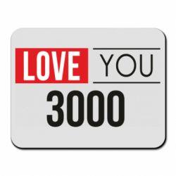 Коврик для мыши Love 300