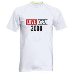 Мужская спортивная футболка Love 300