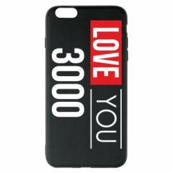 Чехол для iPhone 6 Plus/6S Plus Love 300