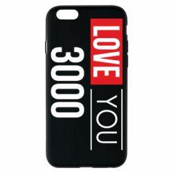 Чехол для iPhone 6/6S Love 300