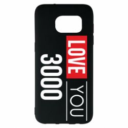 Чехол для Samsung S7 EDGE Love 300