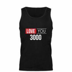 Мужская майка Love 300