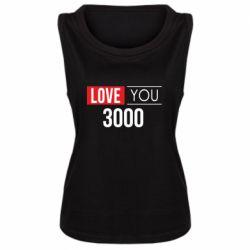 Женская майка Love 300