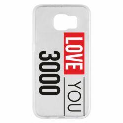 Чехол для Samsung S6 Love 300