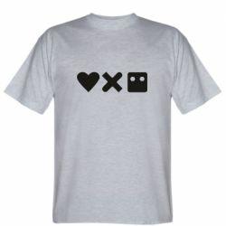 Чоловіча футболка Love and robots