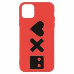 Чохол для iPhone 11 Love and robots