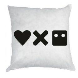 Подушка Love and robots