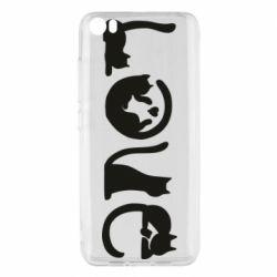 Чехол для Xiaomi Mi5/Mi5 Pro Love consists of cats