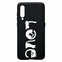 Чехол для Xiaomi Mi9 Love consists of cats