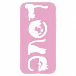 Чехол для iPhone 6 Plus/6S Plus Love consists of cats